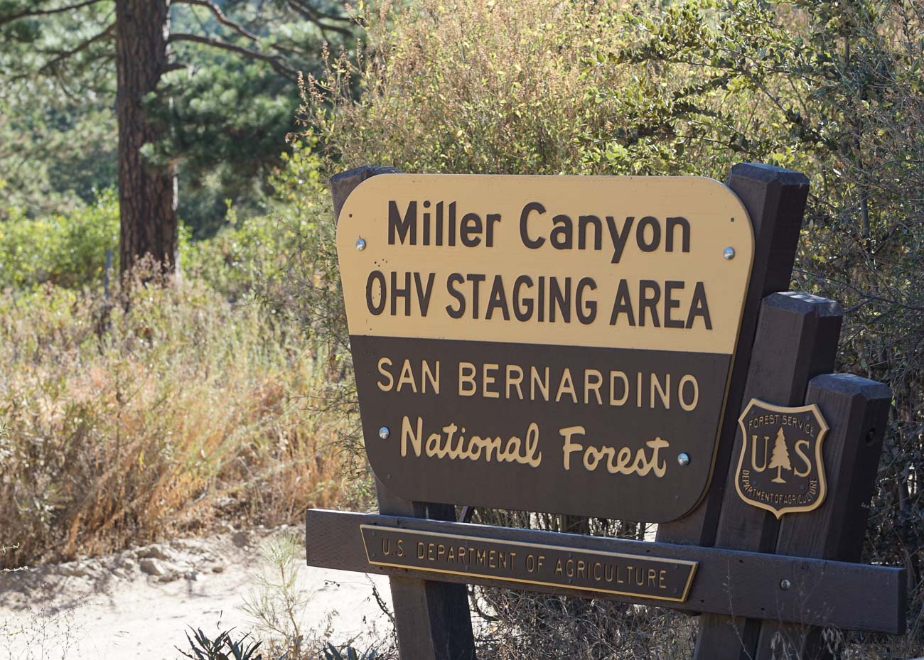 Miller Canyon Staging Area
