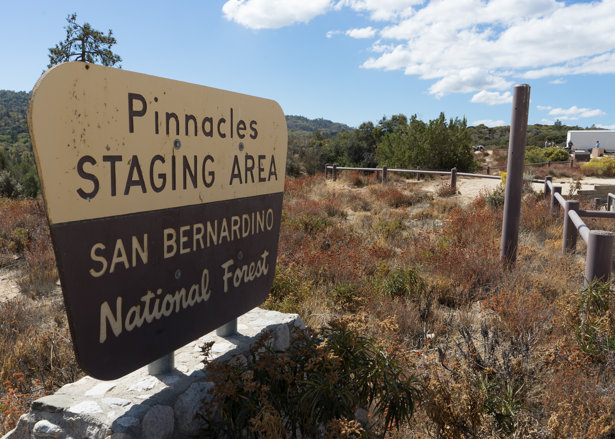 Pinnacles Staging Area