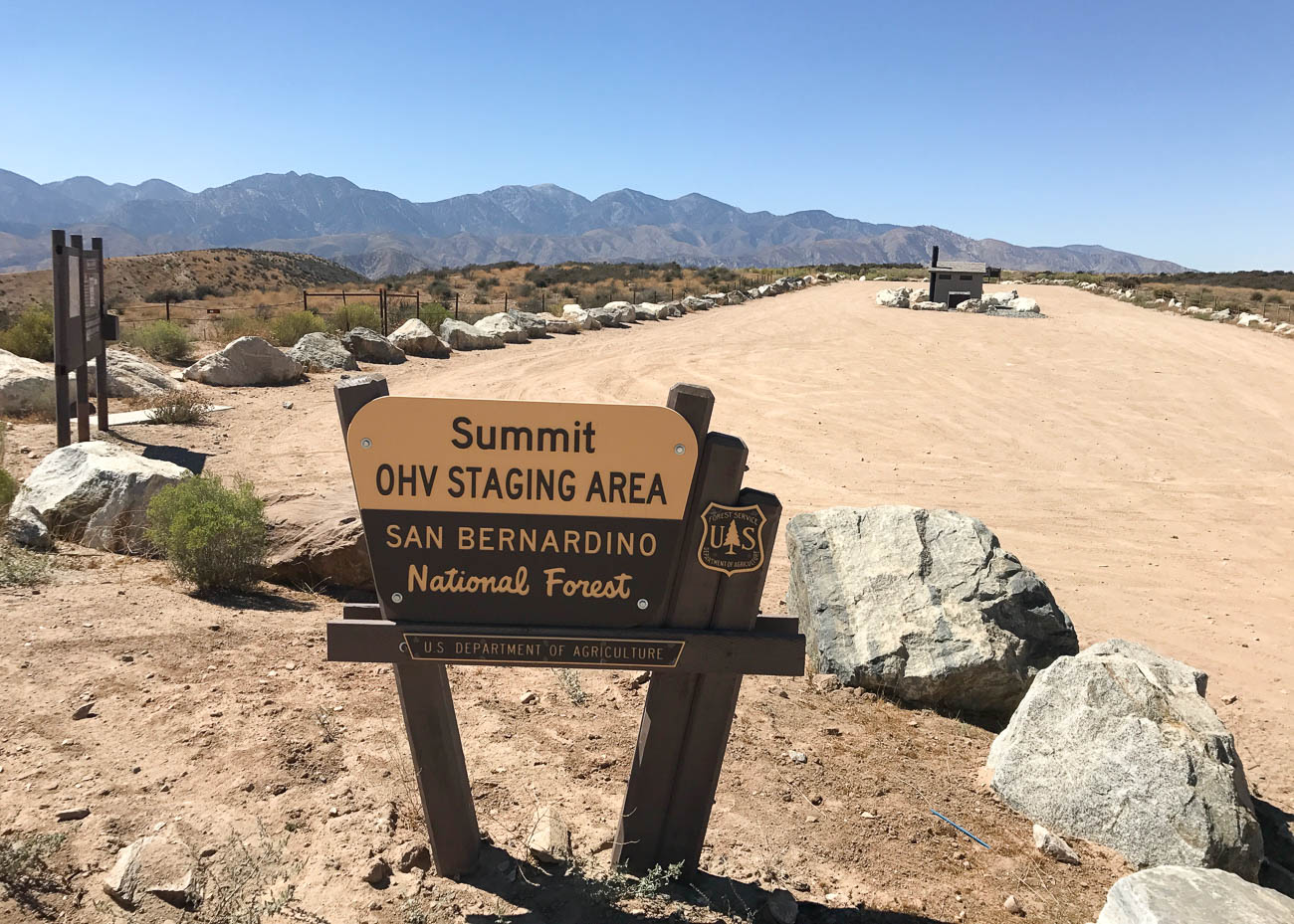 Summit Staging Area