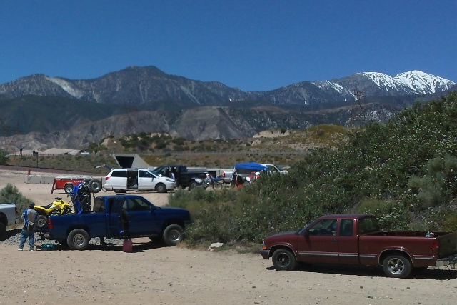 Baldy Mesa Staging Area
